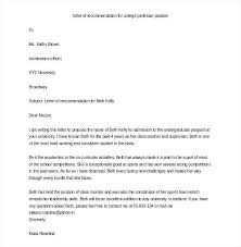 sample letter of recommendation for college student teacher letter of recommendation template bigminds info