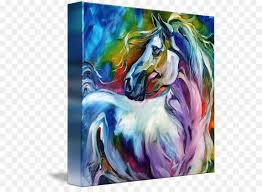 watercolor painting horse canvas oil painting painting png 589 650 free transpa painting png