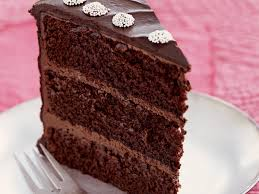 Chocolate Layer Cake with Peppermint Ganache Frosting Recipe