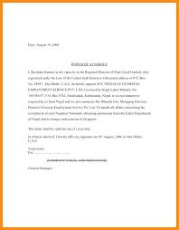 Power Of Attorney Letter Poa Letters Grude Interpretomics Co