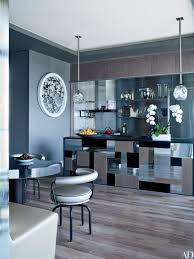 sophisticated kitchen island design plans. The Symphony Of Reflective Surfaces In Kitchen A Manhattan Penthouse By Jean-Louis Sophisticated Island Design Plans