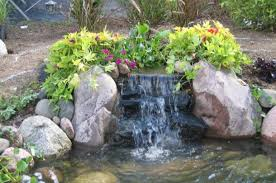 Small Picture Garden Ponds And Waterfalls Rock Pond With Small Waterfall And
