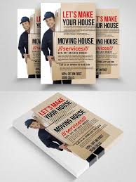 Moving Flyer Template Moving House Services Flyers Flyer Templates 6 00 Flyer