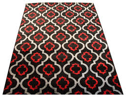 persian rugs modern 3028 moroccan trellis black and burdy 9 0x12 6 mediterranean area rugs by persian rugs