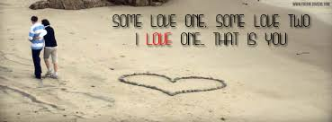 Love Quotes Facebook Simple I Love One Quote Fb Cover Quote Facebook Picture