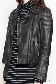 fashion style women clothing 70891165847553 mesop classic biker leather jacket black