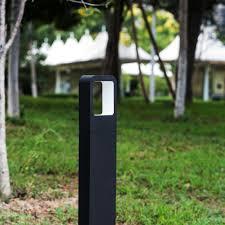 garden bollard lighting. Lightbox Moreview · Black Shell Garden Bollard Lighting A