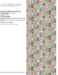 Palm Beach Designer Fabrics Colorpop Andre Wallpaper The Nicolette Mayer Collection