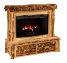 superior amish made fireplaces from dutchcrafters furniture pid rustic log fireplace with mantel country style electric