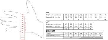 Leki Gloves Size Chart Glove Size Advisor Helpdesk Leki