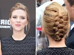 Tresse Coll E Scarlett Johansson Ses Plus Belles Coiffures Elle