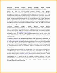 Impressing  Personal Statement   UW Department of Family Medicine personal statement examples for residency