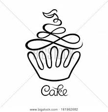 Cake Cafe Bakery Logo Vector Photo Free Trial Bigstock