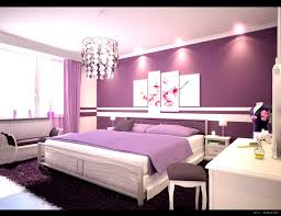 ... Charming Gorgeous Girls Bedroom Decorating Ideas Purple Wall Paint  White And Design Dining Violet Accents Violets ...