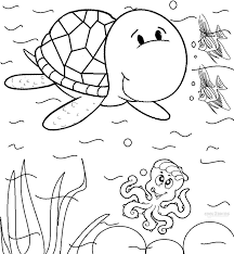 Small Picture Best Sea Turtle Coloring Page Best Coloring Bo 8647 Unknown