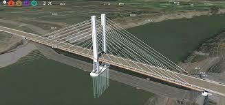 Suspension Bridge Model Design Building A Bridge Between Inventor Infraworks Civil 3d
