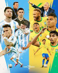 Fußball heute live im TV und im LIVE-STREAM: Wer zeigt / überträgt das  Finale der Copa America zwischen Argentinien und Brasilien?