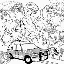 Dinosaur land drawing