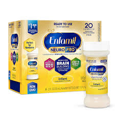 Enfamil Newborn Formula Feeding Chart Enfamil Neuropro Ready To Feed Baby Formula Milk Nursette 2 Fluid Ounce 6 Count Mfgm Omega 3 Dha Probiotics Iron Immune Support