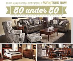 50 Under 50 Sale at Furniture Row Front Door