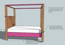 Farmhouse Bed Canopy Modification (All Bed Sizes) | Ana White