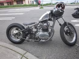 oldmotodude yamaha xs650 hardtail bobber spotted in western