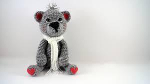 Easy Crochet Teddy Bear Pattern Interesting Decorating Ideas