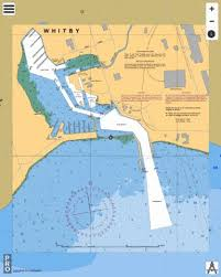 Whitby Harbour Marine Chart Ca2049_1 Nautical Charts App