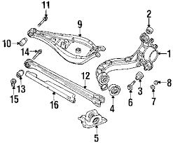 2002 bmw 325i parts diagram 2002 image wiring diagram bmw 33326863853 genuine oem trailing arm adjust bolt on 2002 bmw 325i parts diagram