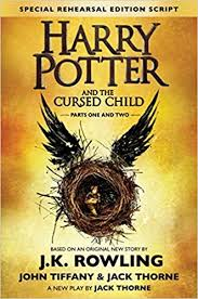 harry potter and the cursed child parts one and two the official script book of the original west end ion special rehearsal edition amazon co uk