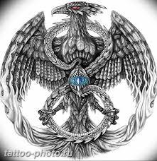 фото идеи тату феникс 18122018 313 Photo Ideas Tattoo Phoenix