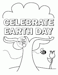 Small Picture Earth Day Coloring Pages Pdf coloring page