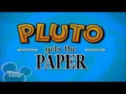 Pluto Gets The Paper Vending Machine