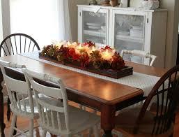 fall dining room table decorating ideas. Dining Room Small Glass Farmhouse Designs Metal Legs Purposed Used Osbor Large Table Decor Fall Decorating Ideas