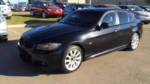 black bmw 2011. Unique Bmw Pre Owned Black On Saddle Brown 2011 BMW 3 Series 4dr Sdn 335i XDrive AWD   St Albert Edmonton AB YouTube For Bmw 1