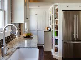 Floor To Ceiling Kitchen Pantry Tall Kitchen Cabinets Pictures Ideas Tips From Hgtv Hgtv
