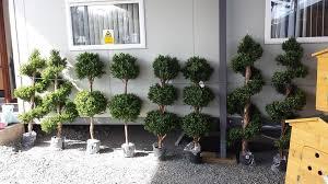 artificial outdoor trees for garden patio and front door oranments
