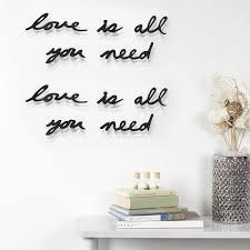 <b>Декоративная надпись Love Is</b> All You Need с логотипом - цена от ...