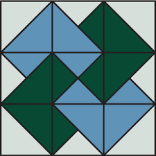 Quiz: how many of these quilt-block designs have you made ... & Cake Stand, Card Trick quilt block Adamdwight.com
