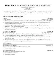 Regional Head Resume Sample Resume For A Manufacturing Plant Manager ...