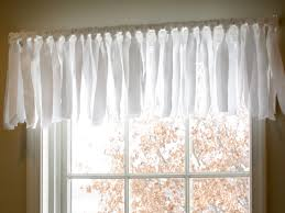 Window Valance Patterns Mesmerizing DIY Easy No Sew Window Valance Pottery Barn Inspired