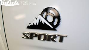 Design My Own Car Emblem Custom Stacked Automotive Emblems