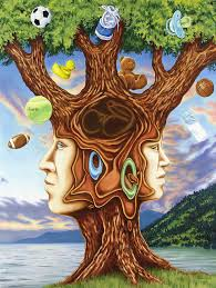metaphorical realism painting family tree by charles luna
