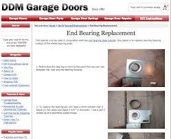 ddm garage doorsHow To Replace a Garage Door End Bearing