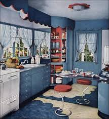 Retro Red Kitchen A Way To Think About Red White And Blue