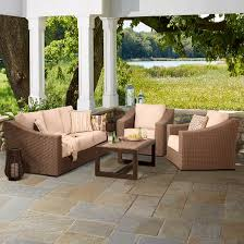 Premium Edgewood Patio Furniture Collection Smith & Hawken™ Tar