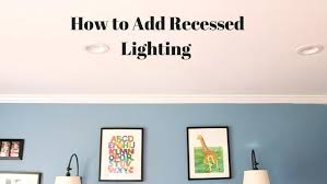 how to install can lights in an existing ceiling medium size of led pot lights best