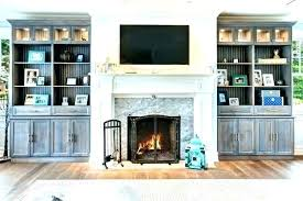 built in shelves around fireplace custom cabinets wall units and entertainment mesmerizing grey wooden cabinet with