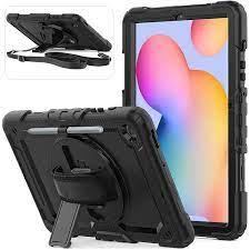 Herize Galaxy Tab S6 Lite Omuz Askılı Tablet Kılıfı 46425