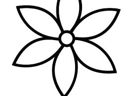 Simple Flower Coloring Pages Simple Flower Coloring Pages Gallery